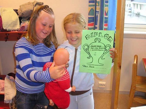 SFO. Bilde fra Husabø skole sine hjemmesider