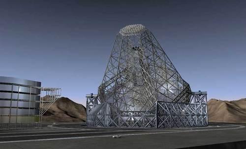 Slik kan teleskopet se ut