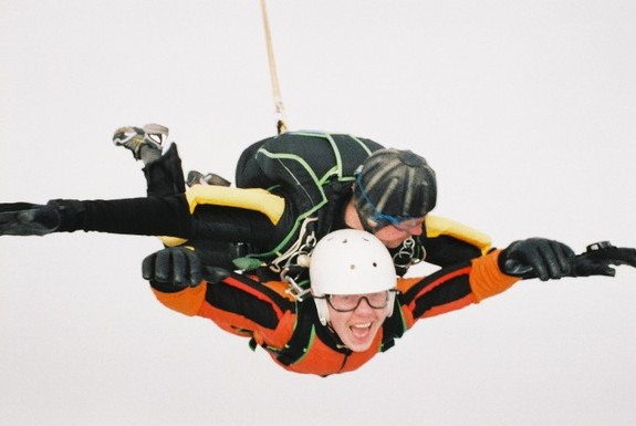 Fallskjermhopping i tandem