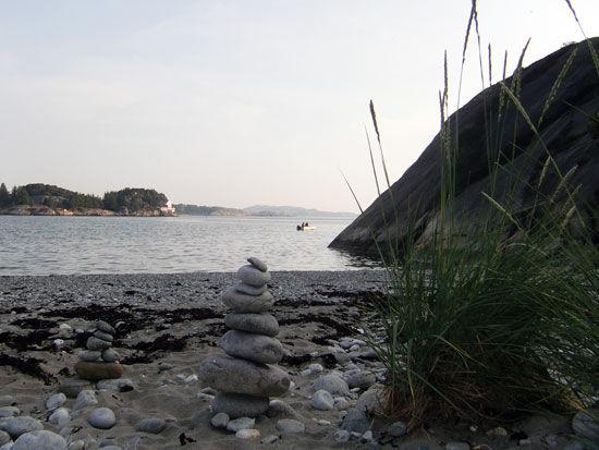 Nordre havn ved Narvarstranden.