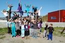 Glade vinnere ved Breivikbotn skole