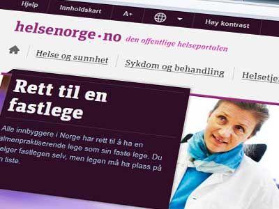 Helsenorge.no Nettside