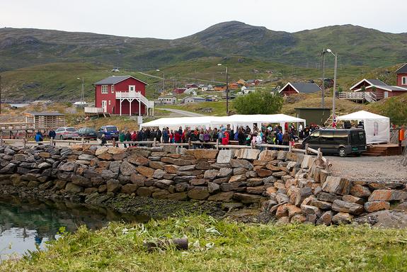 Fra åpninga av Sørøydagene 2011