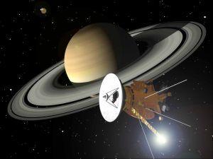 Cassini og Saturn