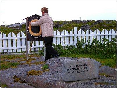 Livbøye funnet etter 23 år - Copyright Anne Olsen-Ryum