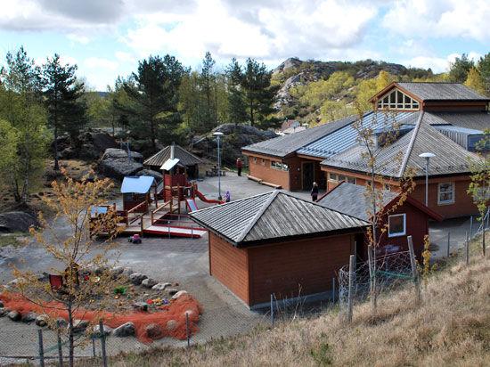 Grøne bråden barnehage i Eigersund