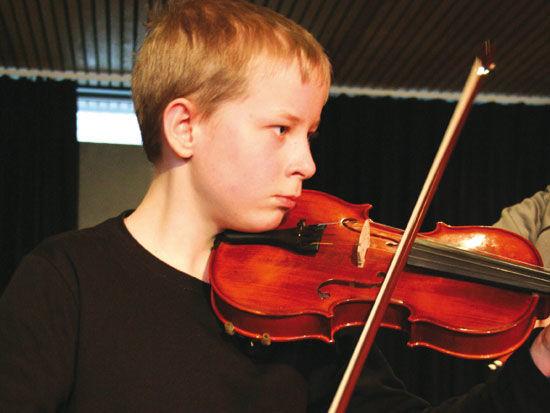 Fiolin ved Eigersund kulturskole