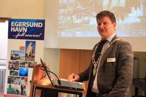 Ordfører Terje Jørgensen jr.