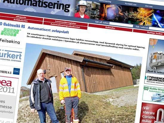 Skryt til Vann og avløpsetaten i eigersund kommune