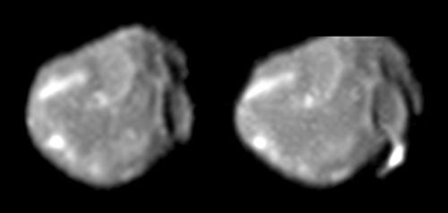 Jupiters måne Amalthea