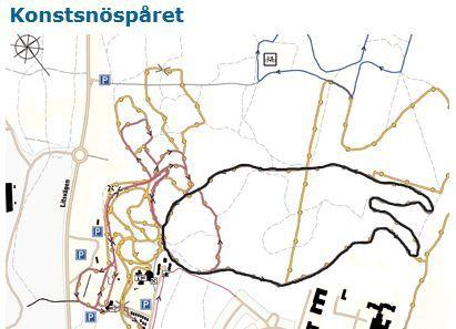 Konstsnöspåret i Östersund
