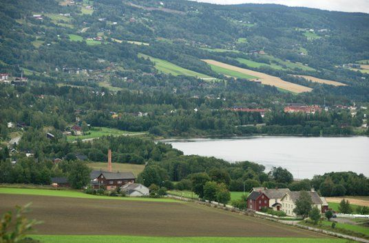 Bilde av landskap i Øyer