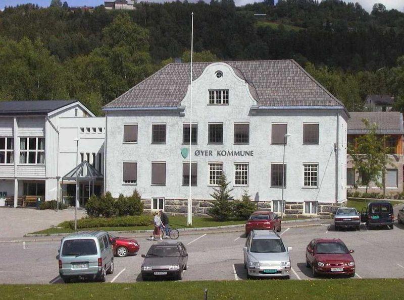 Rådhuset i Øyer