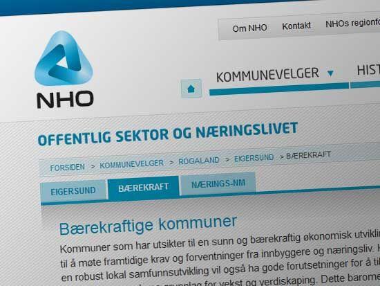 NHO - Bærekraftige kommuner