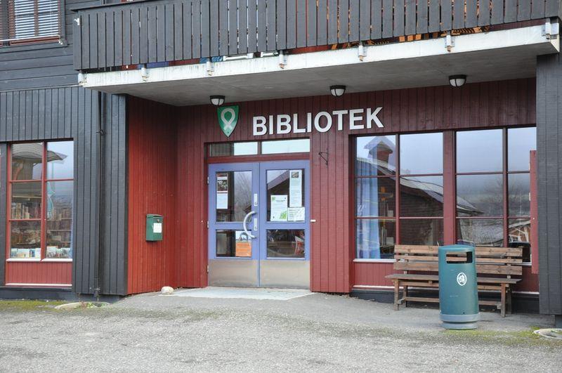 Inngang biblioteket
