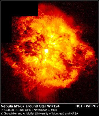 M1-67 rest av supernova