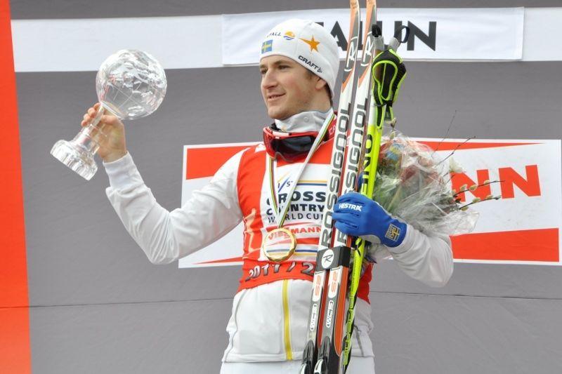 Teodor Peterson vann sprintvärldscupen 2012. Foto: Per Frost
