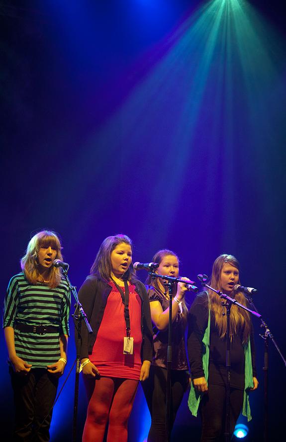 Fra fylkesfmønstringen i UKM i Karasjok 2012 - copyright Anne Olsen-Ryum