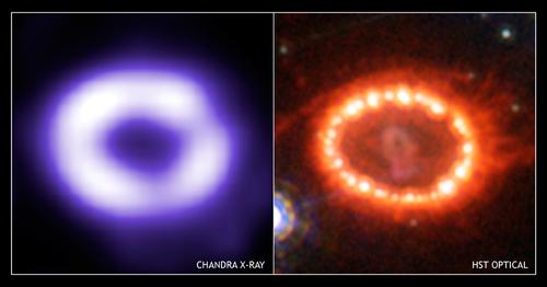 Supernova 1987a x-ray chandra