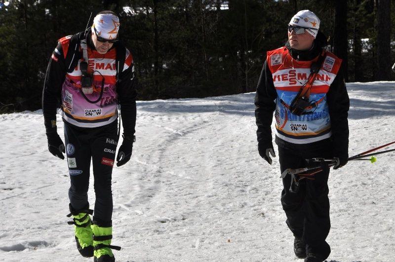 Rickard Grip och Joakim Abrahamsson. Foto: Per Frost