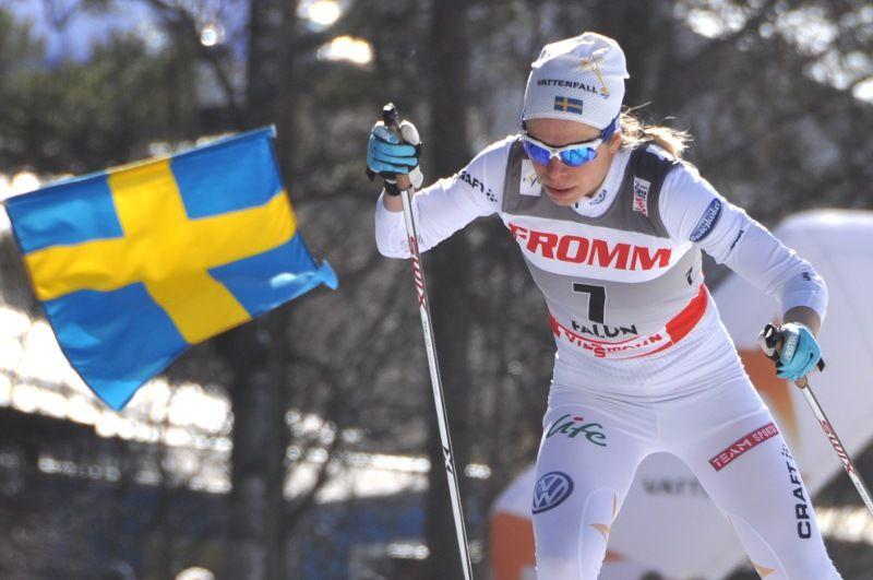 Maria Rydqvist gör en spännande comeback på snö under Torsby Ski Festival. FOTO: Per Frost.