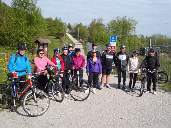 Ordførertur på sykkel