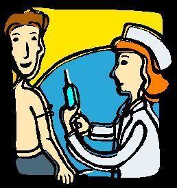 Tegning av sykepleier og pasient