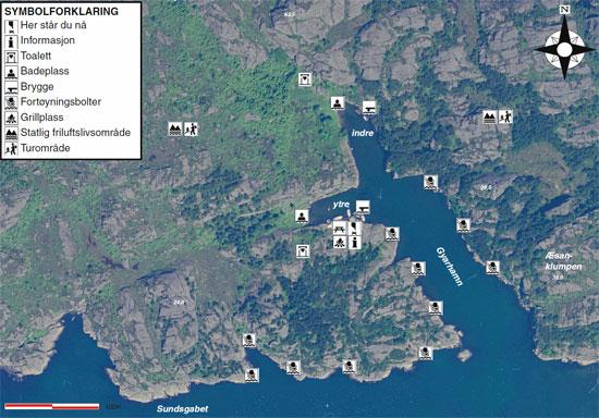 Kart over Gyarhavn