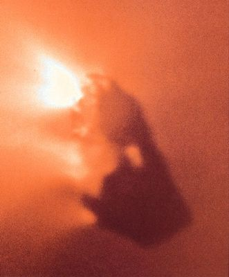 Halleys Komet sett fra Giotto