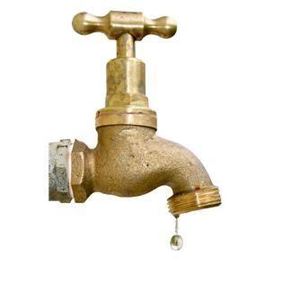 Dryppende vannkran