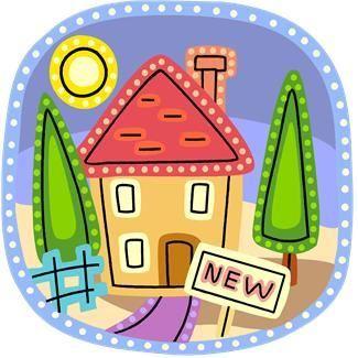 nytt hus tegning