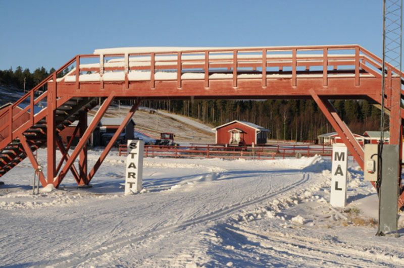 Lindbäcksstadion står inför en enorm satsning på 450 miljoner. FOTO: Strömnäs GIF.