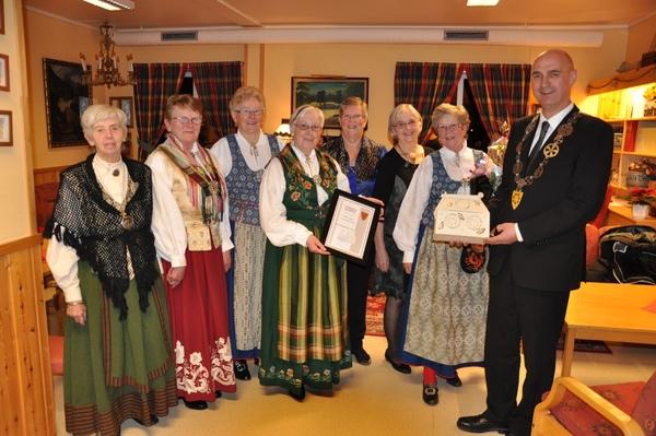 Skage sogn sanitetsforening_kulturprisen 2012