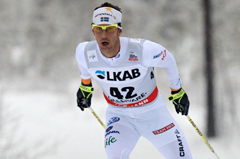 Världscupen är tillbaka i Gällivare 2017 som genrep inför VM. Här är Anders Södergren vid fjolårets världscuppremiär i just Gällivare. FOTO: NordicFocus.