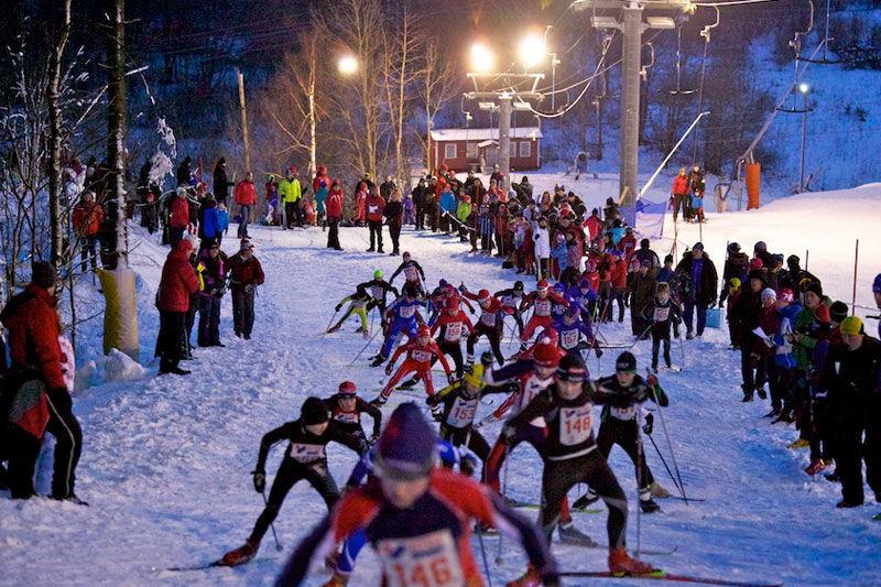 Svenska Skidförbundets server låste sig när ungdomstävlingen Tour de Mösseberg öppnade i fredags eftermiddag. FOTO: Falköpings AIK Skidor.
