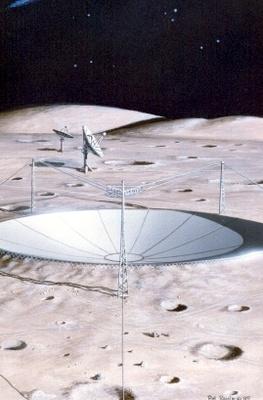 Arecibo på Månen