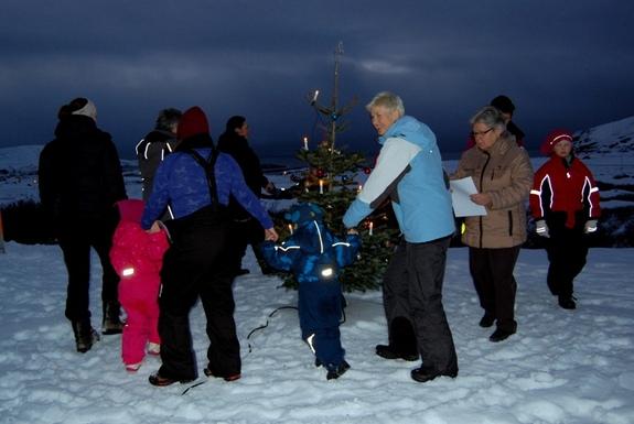 Juletrefest på Røde Kors-hytta