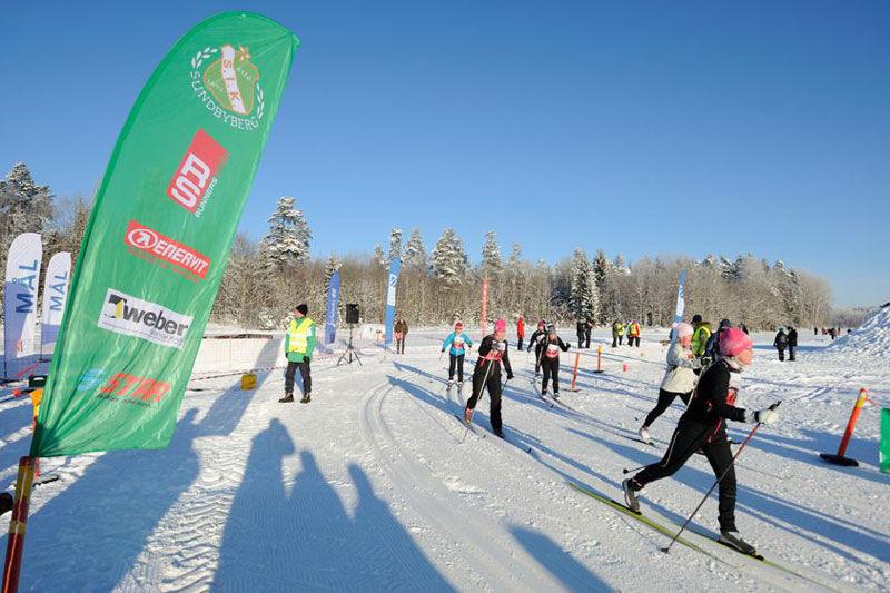 Tjejskidan flyttas till 16 februari. Här en bild från förra vinterns arrangemang.. FOTO: Anders Wånell.