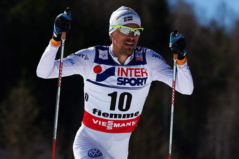 Bragdguldet till Johan Olsson efter femmils-bragden på VM. FOTO: Felgenhauer/NordicFocus.