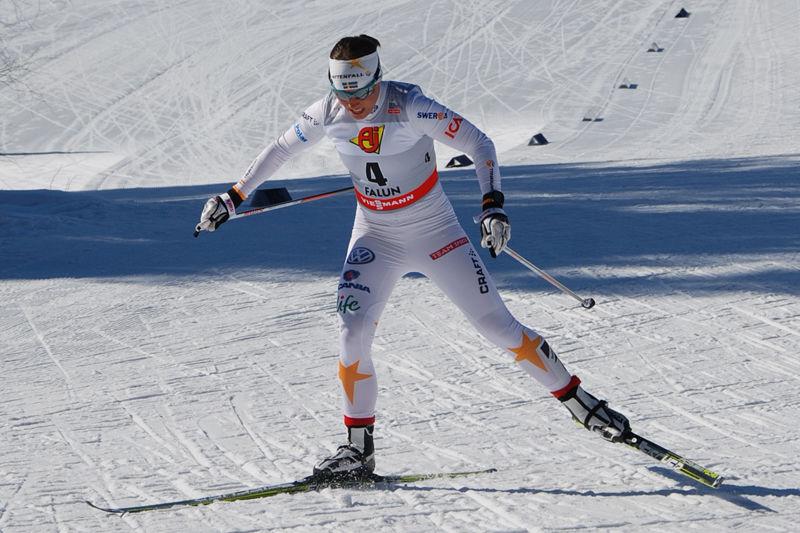 Nu släpps biljetter till för För-VM i Falun då förstås Charlotte Kalla är en av attraktionerna. FOTO: Linus Trygg.