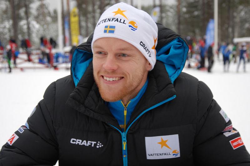 Anders Byström byter från längdåkning till skidskytte.  FOTO: Johan Trygg.