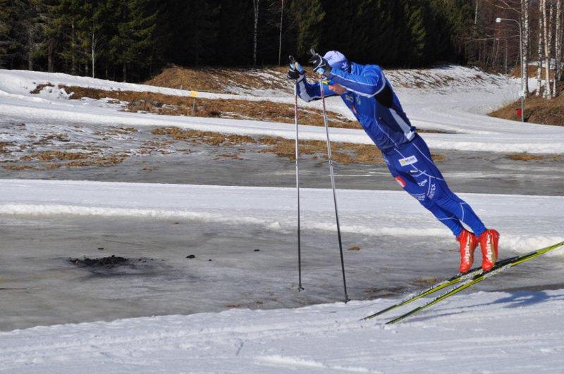 Patrik Johansson, IFK Skövde,är på väg tillbaka efter en del motgångar med twarinfektion.. FOTO: Lena Johansson.
