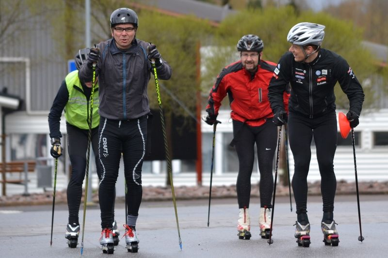 Teknikträning på rullskidor är en efterfrågad aktivitet som erbjuds av bland annagt Sport Support Center. FOTO: tynellactivity.se.