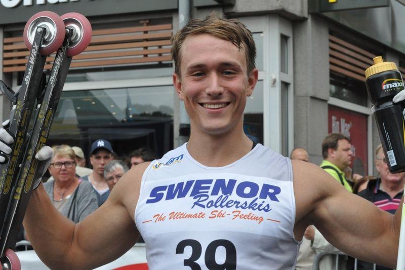 Svenske mästare Marcus Johansson blir en av favoriterna på Jönköping Open Rollerski. FOTO: erikwickstrom.se.