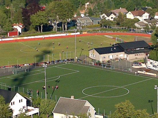 Fotball på Idrettsmarke på Husabø