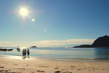 En tur på sanden søndag 20 juli 043