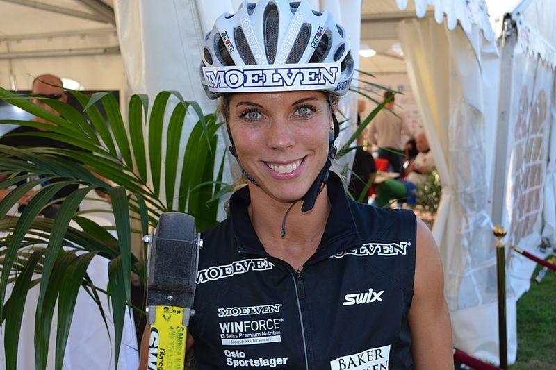 Ska Sandra Hansson vinna Alliansloppet i år igen? FOTO: Johan Trygg.