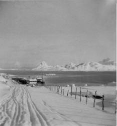 Parti fra Kråkberget ca. 1943-44 Originalbildet er lånt av Lajla Bygd Hanssen