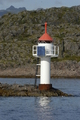 Solar powered lighthouse