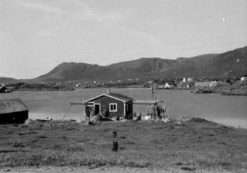 Snarsetvågen ca. 1962 Originalbildet er lånt av Bernt Pedersen